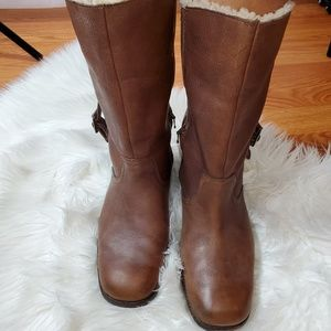 UGG leather boots size 8
